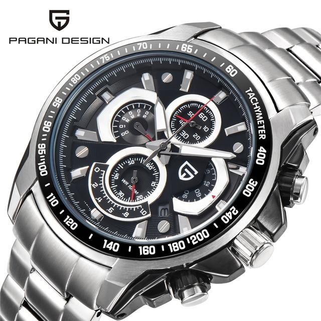 9abb4d2615f Men Classic Design Brand Waterproof Sports Watches Quartz Stainless Steel  Military Watch Clocks Reloj Hombre Relogio