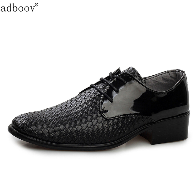 gents brown black color leather shoes mens weave party leather shoes ...