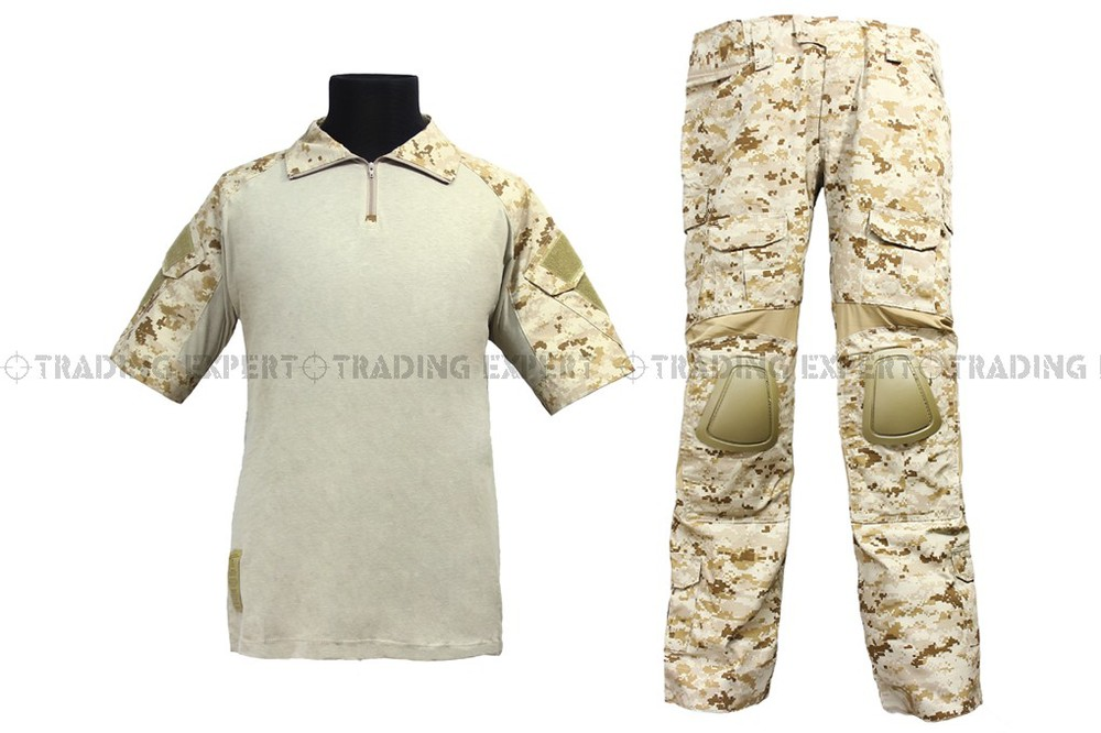 EMERSON Us Army Military Uniform For Men Navy Seals Combat Set - Summer Edition (AOR1) Em6917