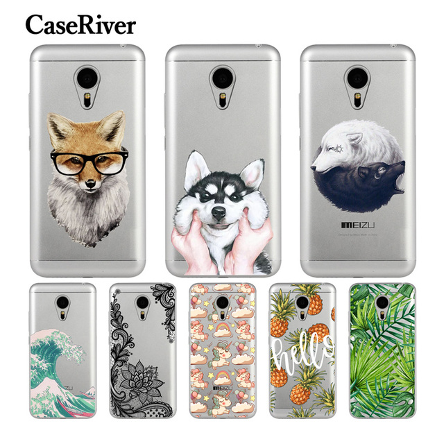 CaseRiver Soft TPU Silicone Meizu M3 Note Case Cover Fashion Patterned Painting Back Protective Phone Case Meizu M3 Note Fundas