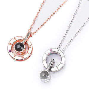 S925 Silver Lover's Necklaces