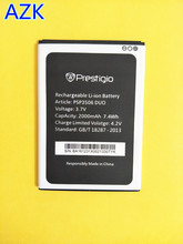 AZK New 3.7V Replacement PSP3517 PSP3506 DU0 Battery For Prestigio Wize M3 PSP3506 PSP 3506 DUO Battery PSP3517 Phone