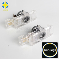 2pcs LED Car Door Welcome Light Courtesy Led Car Laser Projector Logo Ghost Shadow Light For