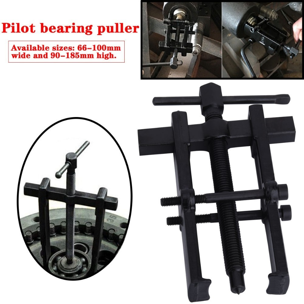 Black Plated Two Jaws Gear Puller Armature Bearing Puller Forging Heavy Duty Automotive Machine Tool Kit