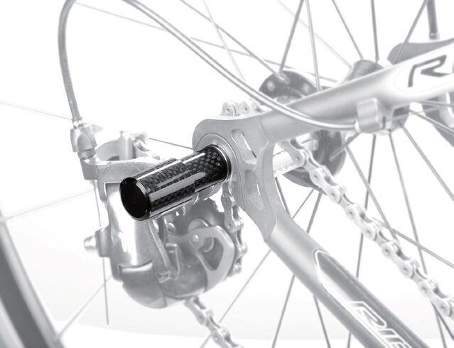Fouriers kerékpár hátsó váltó védőszén Szénszálas - Kerékpározás