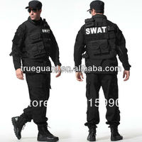 Tactical Rip Stop Black Army Uniforms