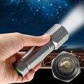 Новый Мини T6 LED 3000LM Фонарик Факел Регулируемый Фокус Увеличить Свет Лампы