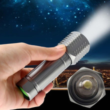 New Mini CREE T6 LED Flashlight Torch 3000LM Adjustable Focus Zoom Light Lamp