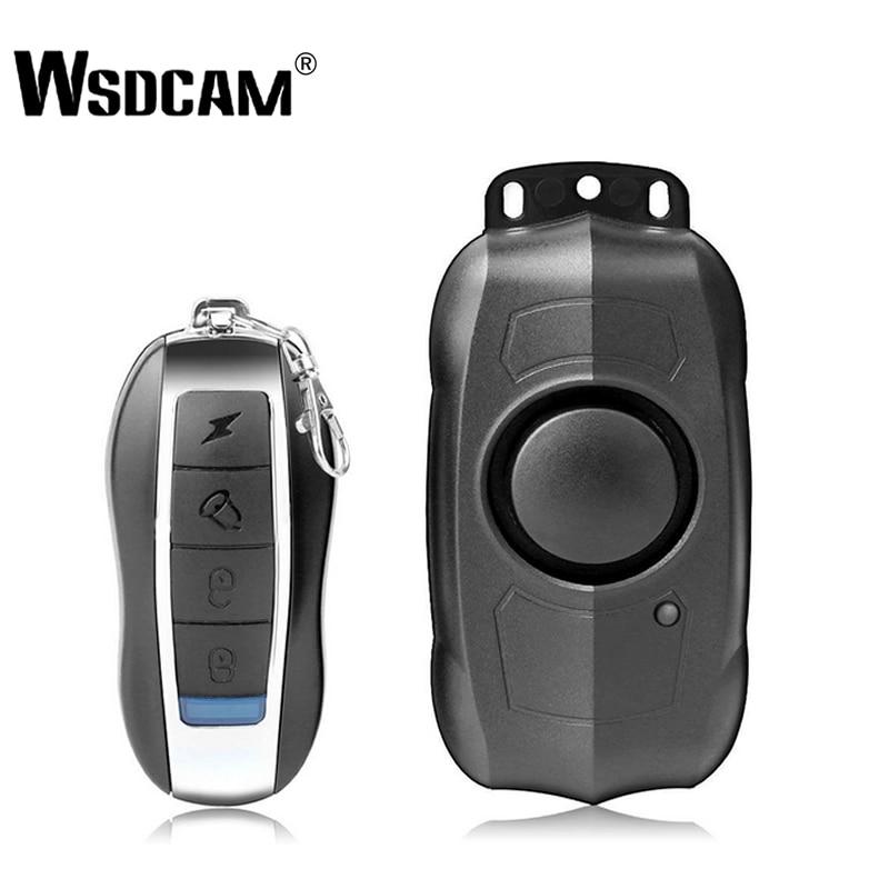USB de Carregamento de Controle Remoto Sem Fio Vibração Alarme de Segurança Do Veículo Do Carro Da Bicicleta Da Motocicleta Elétrica Alarme Sensor De Alarmes para Casa