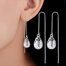 NEHZY de Plata de Ley 925 nueva mujer Retro placer colgante pendientes de joyería de moda de ojo de gato de diamantes de imitación de alta calidad