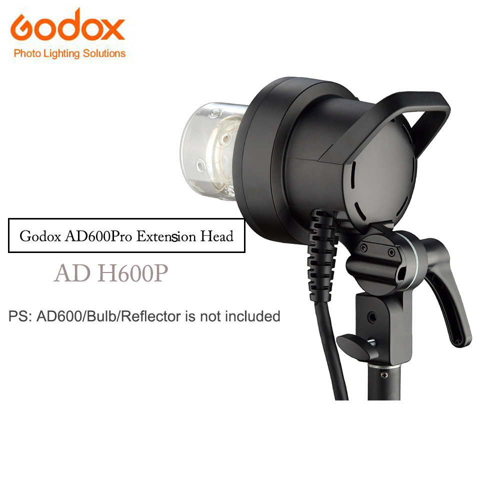 Godox H600P Extension Head Bowen Mount Off-flash Handheld photography accessory for Godox WITSTRO AD600Pro AD600 Pro TTL Strobe