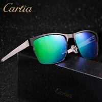 244dd4d8b Polarized Sunglasses 2017 Brand Designer Sunglasses Men 5225 Carfia Metal  Mirror Bicycle Glass Women Square