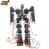DIY Robot 17DOF Biped Robotic Educational Robot Humanoid Kit Servo Bracket Educational Toy F17326
