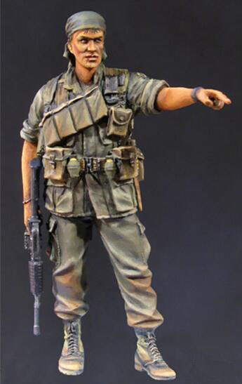 1/35 Resin Figure Vietnam War US Army 1pc Model Kits image