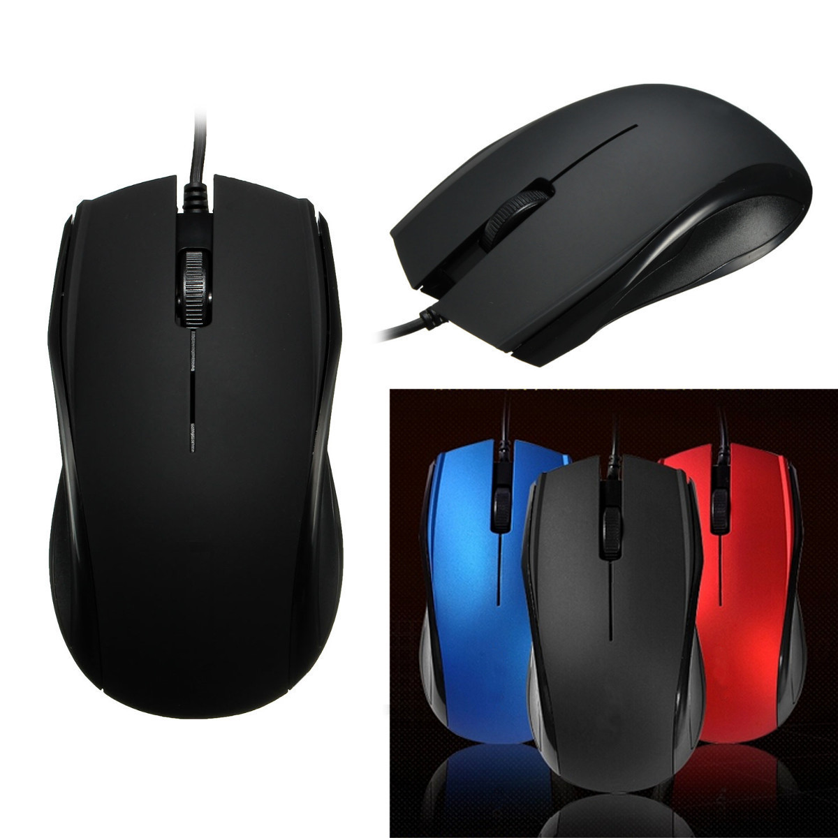 Online color wheel games - New Usb Wired Optical Gaming Game Mouse Mice Scroll Wheel 3 Buttons For Computer For Macbook