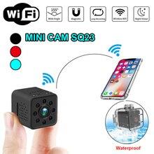 Оригинальный SQ13 SQ23 SQ11 SQ12 WI-FI Мини Спорт Камера 1080 P Ночное видение видеокамеры Micro видео DV Камера DVR инфракрасный монитор