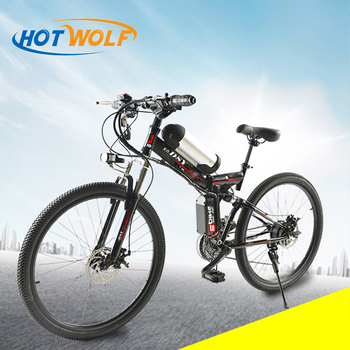 350 W poderoso 36 V 10.8ah Bateria De Lítio E bicicleta elétrica 26