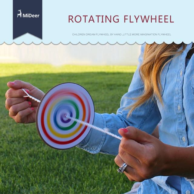 Mideer Children DIY Skill Game Rotating Flywheel Windmill Classic Toys Flywheel toy Nostalgic toys for Kids Gift
