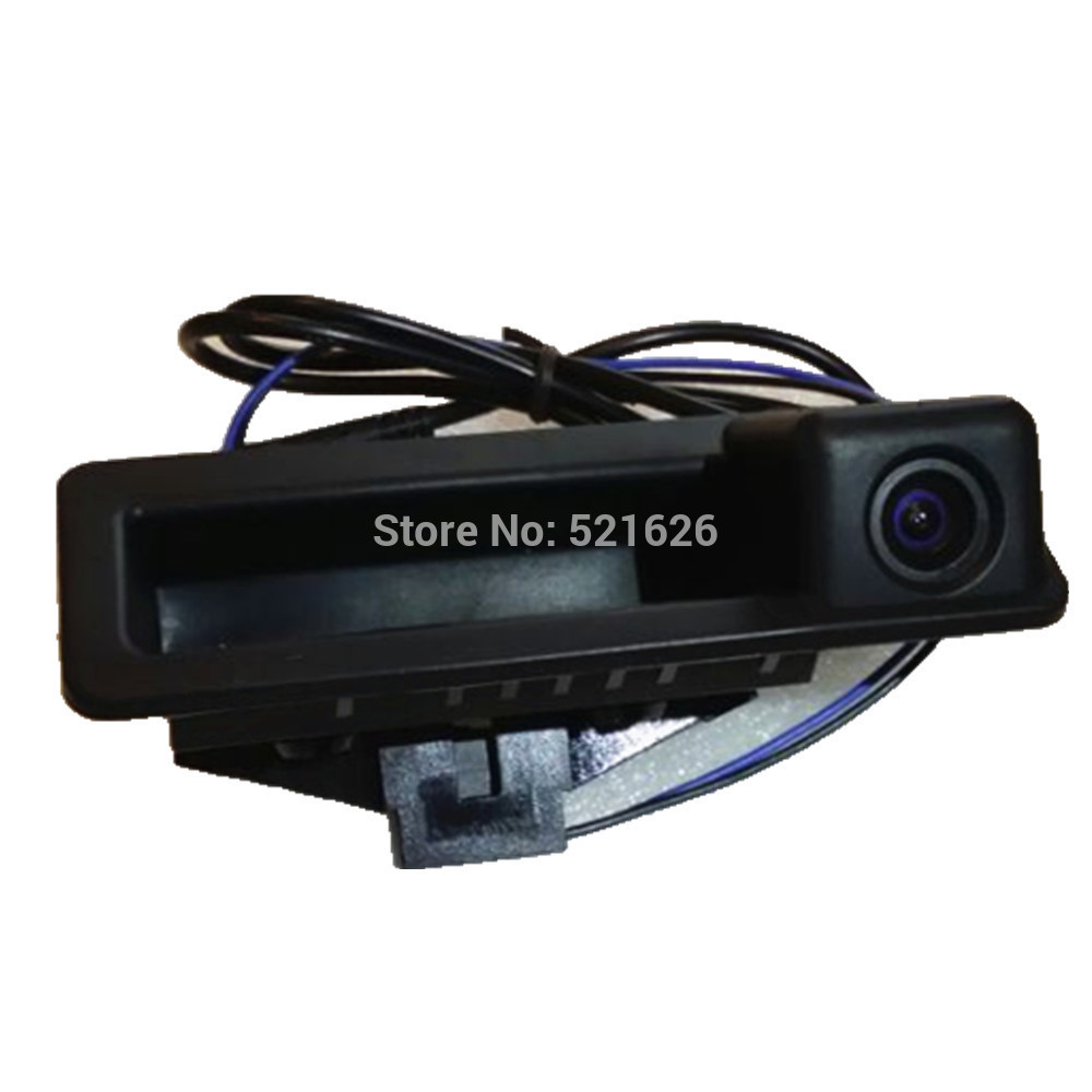 HD барвисті CCD автомобіля ручка заднього виду камери для E60 E61 E70 E71 E72 E82 E88 E84 E90 E91 E92 E93 X5 X6 X1