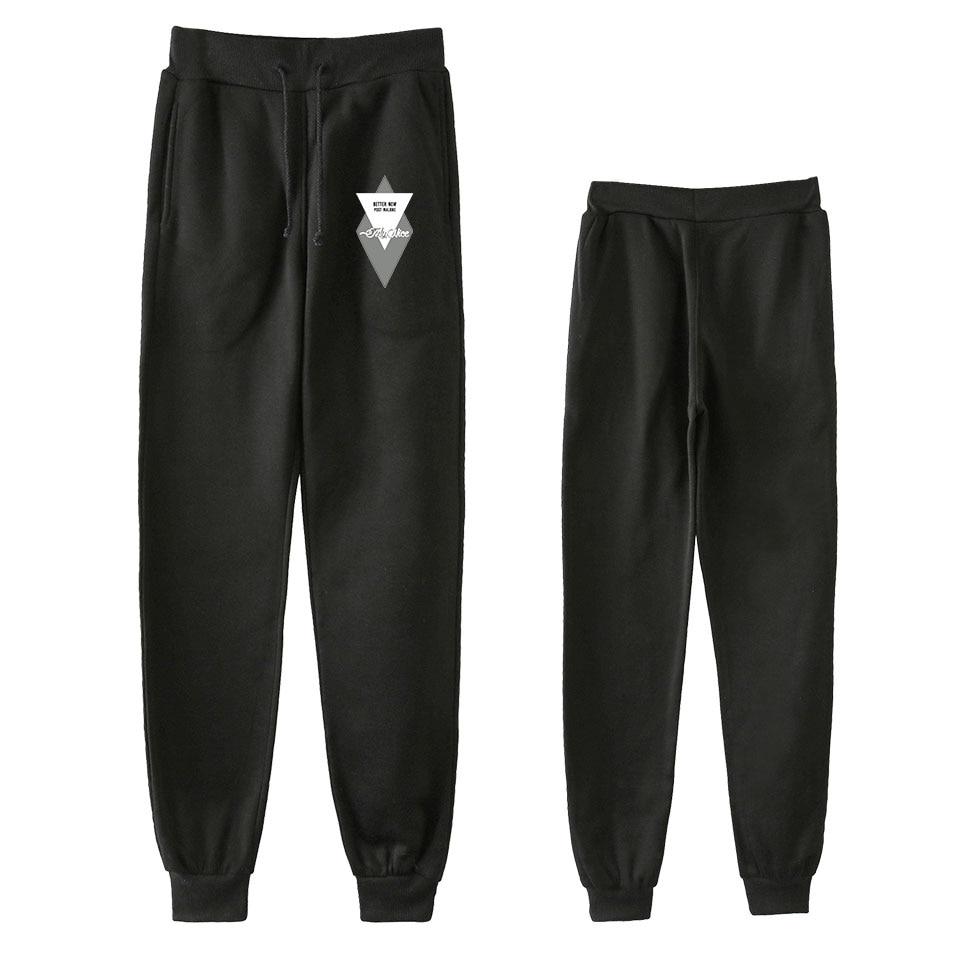 Post Malone Men Hip Hop Pants Trousers Kpop Fashion Casual High Quality New Casual Warm Post Malone Pants Slim Kpop Pants