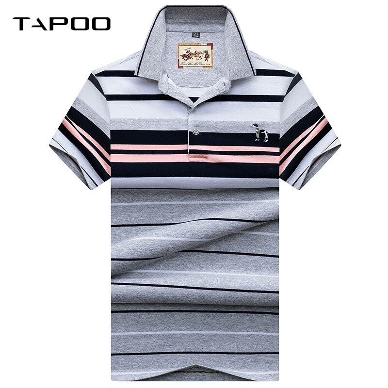 2018 Männer Polo Shirts Mode Stil Sommer Gestreiften Hai Marke Kurzarm Polo Shirt Männer Hohe Qualität Tops & Tees Halten Sie Die Ganze Zeit Fit