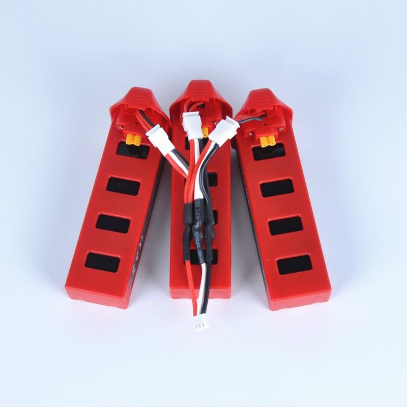 MJX Bugs 2 Batterie MJX B2C B2W 7.4 V 1800 mAh 25C Lipo batterie Pour MJX B2W avec 3in1 Chargeur Câble RC Pièces Hélicoptère Batterie