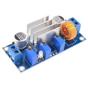 Image 3 - 5 sztuk/partia 5A Max DC DC XL4005 Step Down buck moduł zasilający regulowany CC/CV litowo ładowania pokładzie dla Arduino Standard