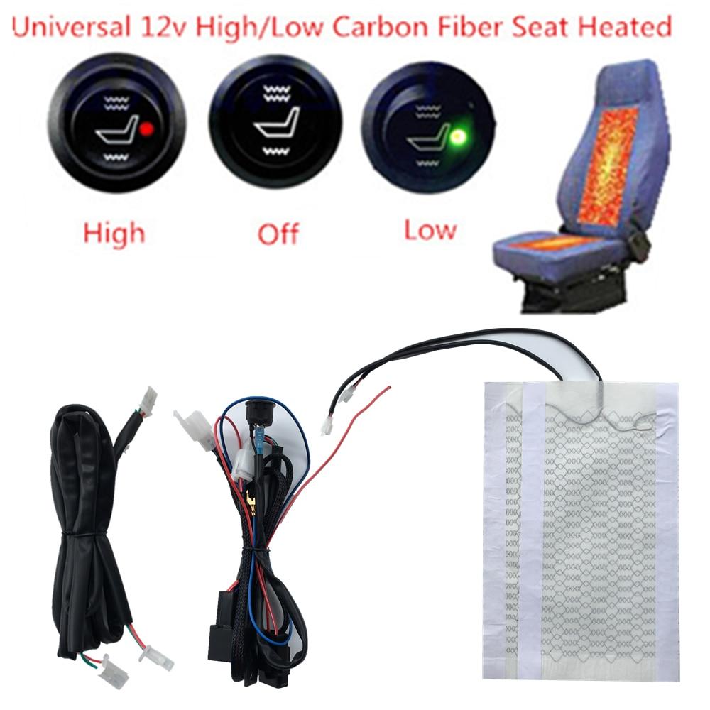 Universal Coussin Chauffant Voiture de Si/ège Couverture Warmer Pad de Chauffage 5 Positions