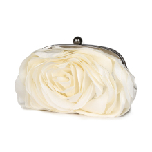 Vintage Ladies Floral Evening Bag
