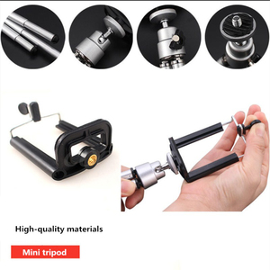 Image 5 - COOLJIER mini tripod for phone Bluetooth Remote Tripod Portable Monopod Extendable Mini Camera Stand Universal Phone Tripods