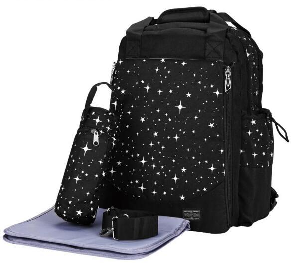 Звезда ноутбука пеленки мешок рюкзак большой Ёмкость корзину изменение Средства ухода за кожей для будущих мам сумка Детские Сумки для под...