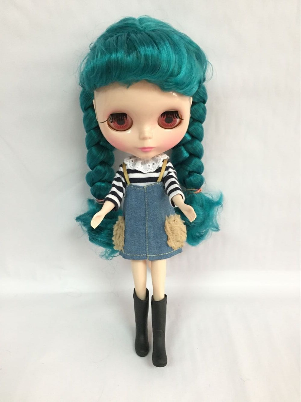 Nude blyth Doll Mixed hair Factory doll Suitable For DIY