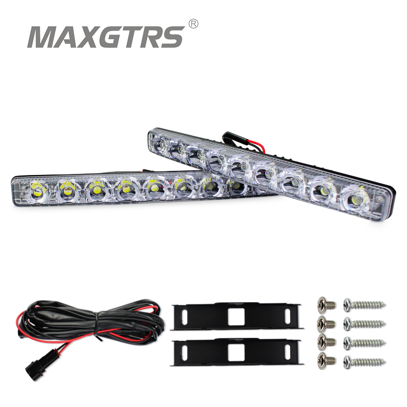 2x High Power Folw 9 Led 18W Led Car Light DRL Daytime Running Light Source Waterproof Car Styling White With Amber Turn signal hocking liz wren wendy bowen mary english world 8 workbook pack