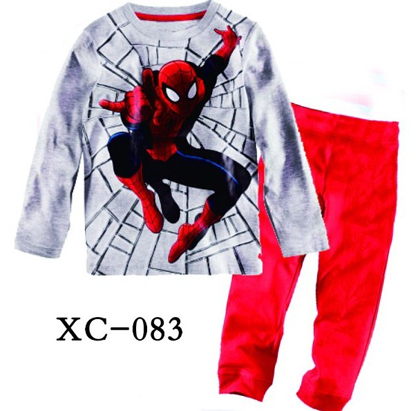 2016 Boys Pijamas Kids Set Children's Pyjamas Clothing Sets Kids Pajamas Baby 2-7 Year Top+ShortsCartoon Pyjama Enfant Sleepwear