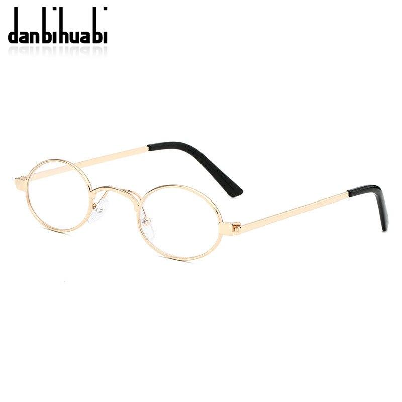 Classic Small Oval Sunglasses Women Men Steampunk Metal Frame Sun Glasses Unisex Vintage Eyewear Oval Driving UV400 Gafas De Sol 3
