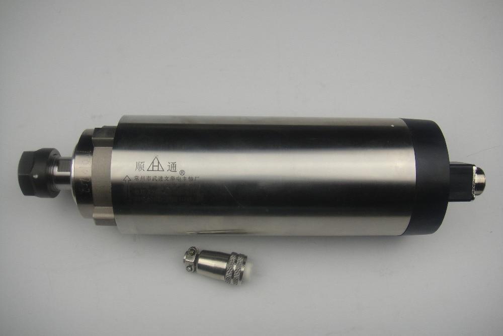 TD 24000RPM läbimõõt 80mm, ER 20 2,2KW õhu jahutus spindli mootor 4 laager cnc ruuterile