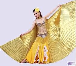 Wings for oriental dances women fan gold wings belly dance accessories gloden cloak for dance.jpg 250x250