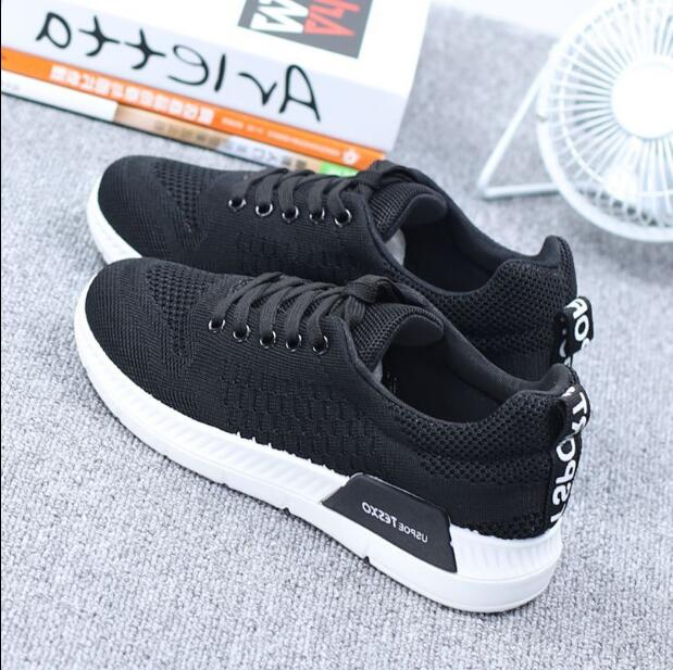 2018 New Autumn Breathable Mesh Women Casual Shoes Vulcanize Female Fashion Sneakers Lace Up Soft High Leisure Zapatos De Mujer 3