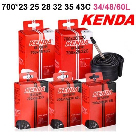 купить KENDA Bike Tire Inner Tube Road Bicycle tyre 700*23 25 28 32 35 43Cx700C inch pneu bicicleta tubular maxxi interieur parts недорого