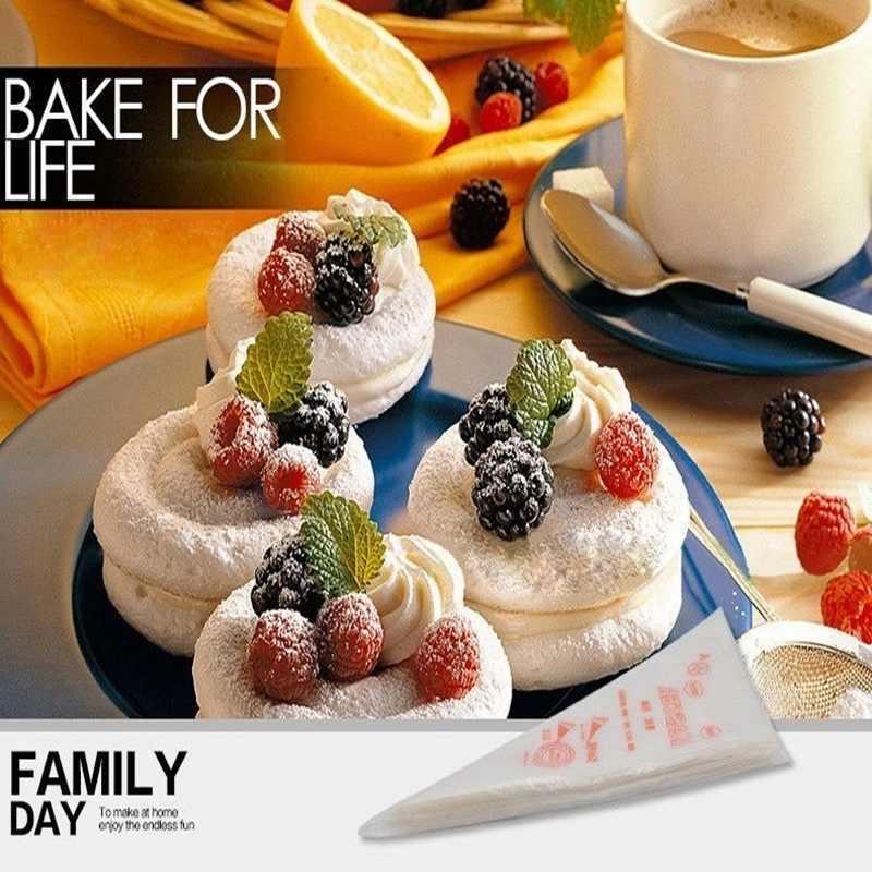 Hoomall 100/200/300 шт одноразовые Кондитерские мешки для торта декор для кухни глазурь пакеты для приготовления пищи чашки торт Трубопроводный инструмент для выпечки