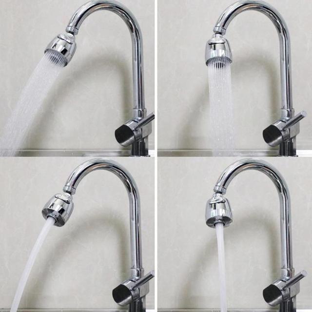 360 回転式シャワーヘッド KitchenFilt 節水蛇口タップエアレーターディフューザー蛇口ノズルフィルター水蛇口バブラー