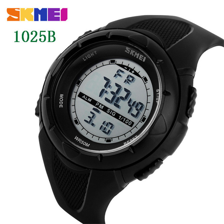 SKMEI Women Watches Fashion Outdoor Sports Waterproof LED Digital Watch Military Multifunction Boy Children Wristwatches
