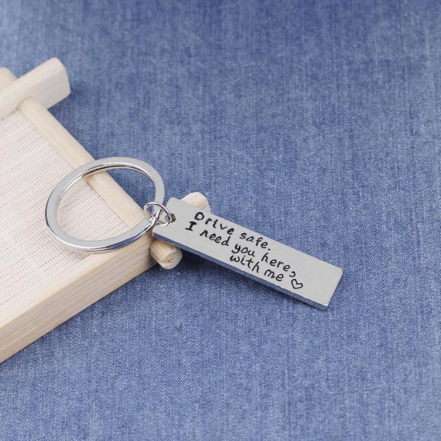 'Drive Safe I Need You' Keychain ❤️