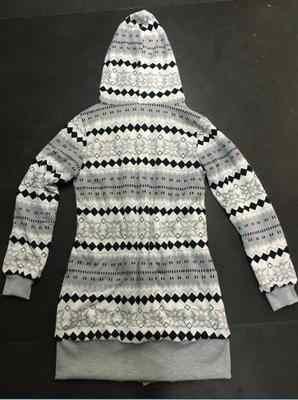 후드 티 여성 2020 새로운 벨벳 두꺼운 후드 니트 자 켓 유럽 미국 겨울 여성 슬림 긴 의류 vestidos LBD1902