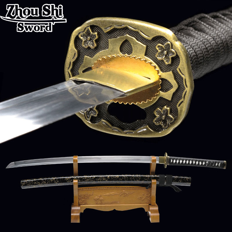 Home decor Katana sword Samurai Japanese Samurai sword Hand forged Craft font b knife b font