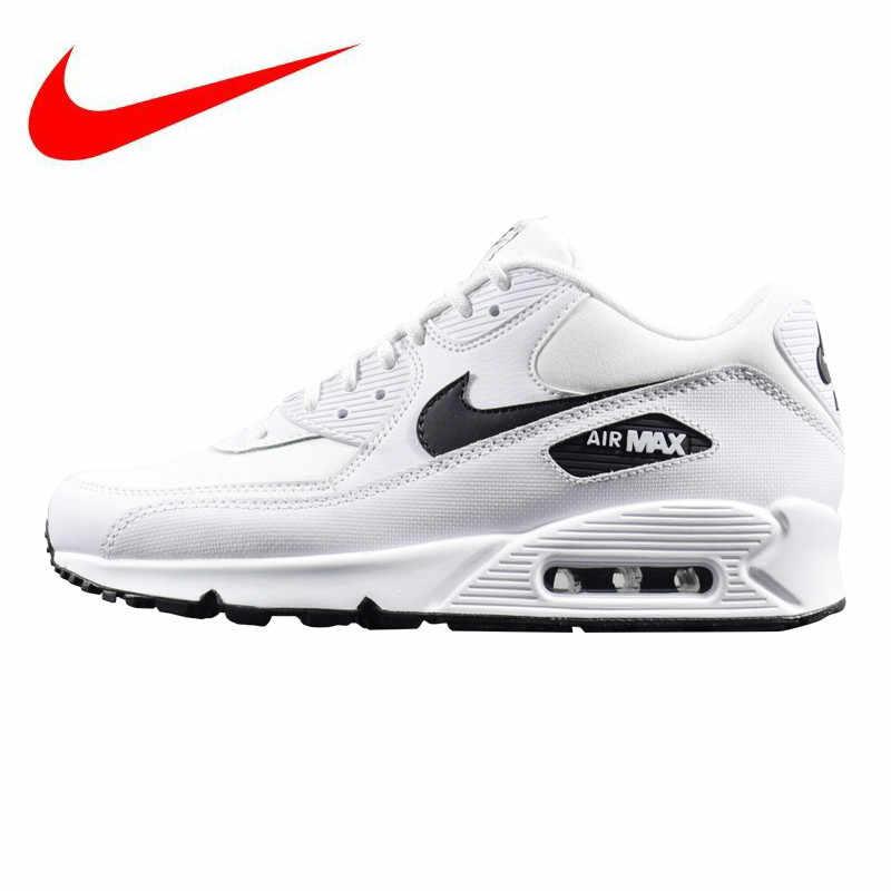 90513992 Оригинальные женские кроссовки NIKE AIR MAX 90 ESSENTIAL, белые, легкие,  Нескользящие, износостойкие