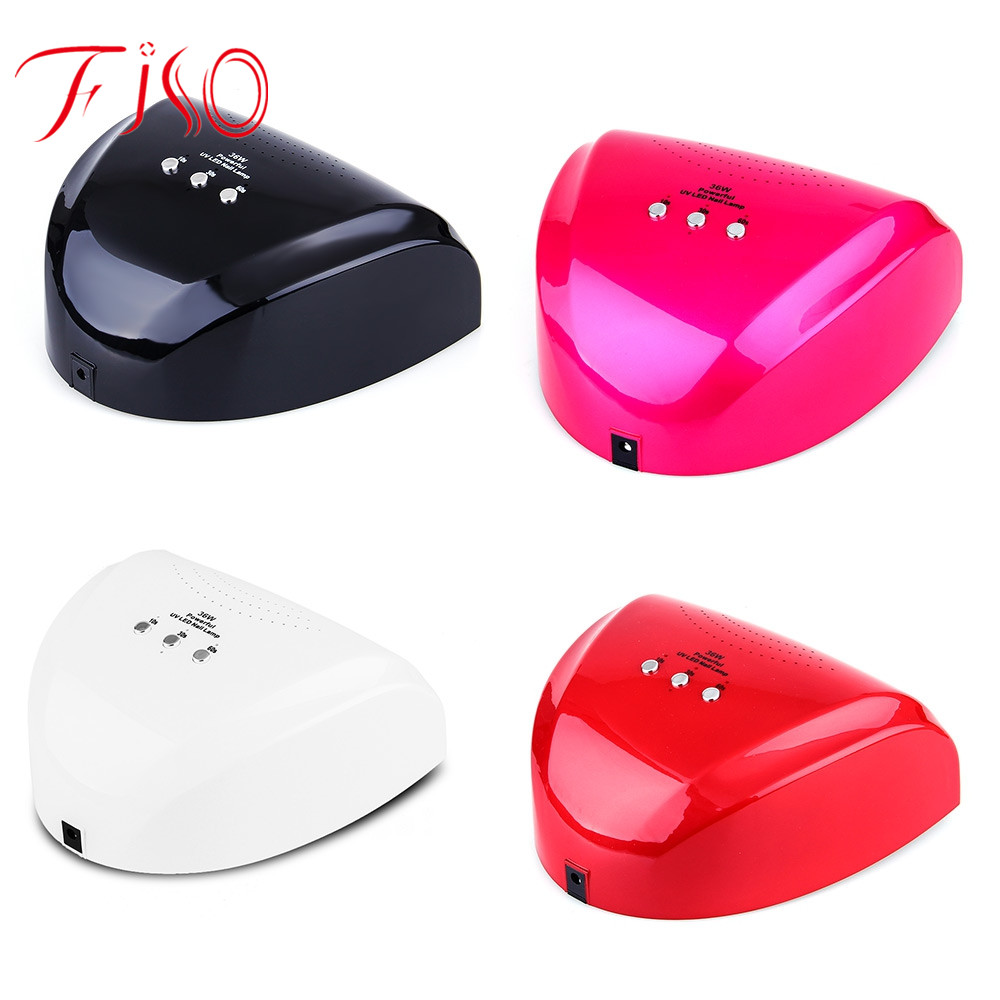 Fiso EU plug Professional 36W 18 Beads UV Light LED Fully Automatic Electric Nail Lamp Induction Nail Dryer For UV-glue