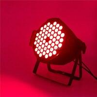 6 pz/lotto LED Par 54x9 W RGB LED Par Può Par HA CONDOTTO Il Riflettore proiettore DJ Wash Illuminazione Della Fase illuminazione d'effetto verticale
