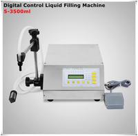 Manual Electric Digital Control Pump Liquid Filling And Sealing Machine 3 3000ml Oil Wine Milk Juice