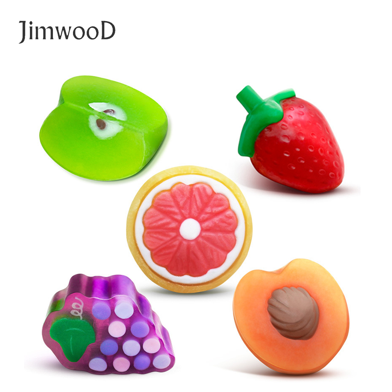 1pc Fruit Complexion Soap Handmade Essential Oil Soap Cleansing Oil Deep Pore Cleansing To Black Face Washing Product